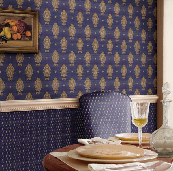 Как придать роскошь в интерьер при помощи драпировки стен тканями