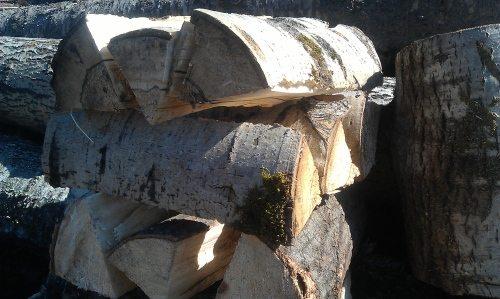 Сухие осиновые дрова.