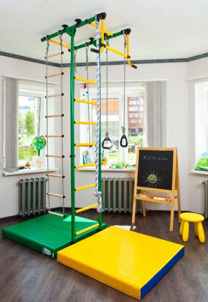 Как оборудовать спортивный уголок для дошкольника