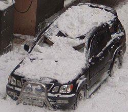 Такое вполне возможно, если не поставить на кровлю снегозадержатель.