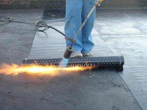 технология покрытия крыши рубероидом