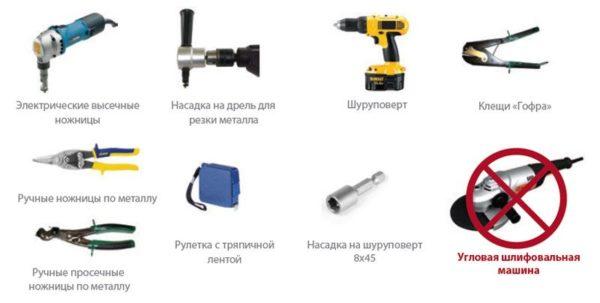 Типовой набор инструментов