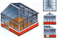Крыша из трех скатов