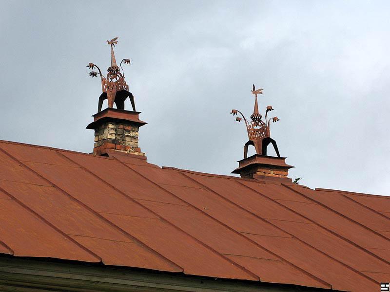 труба на крыше