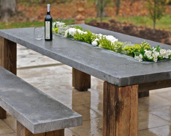 Преимущества кухонных столешниц из бетона