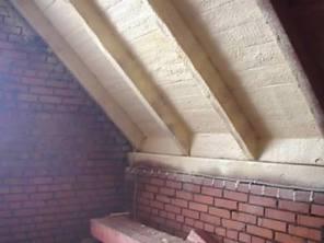 утепление крыши мансардной