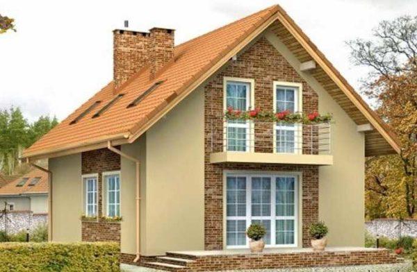В России домовладельцы предпочитают двускатные конструкции.