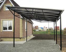 Вариант изготовления простейшей стационарной конструкции, выполненной с односкатной крышей