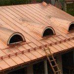 Вариант медной крыши