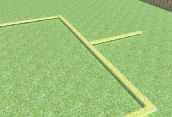 Вертикальная стойка обеспечит дополнительную прочность мансарды
