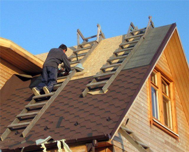 Крыша под рубероид своими руками фото 406