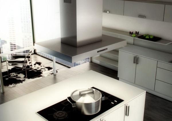 Как выбрать на кухню вытяжку правильного размера