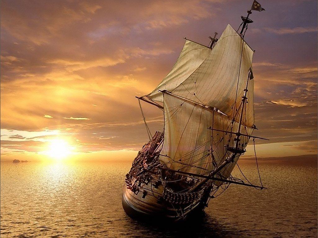 Vleugel на мачте корабля