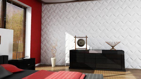 Что такое 3D панели и как их использовать в интерьере гостиной и спальни