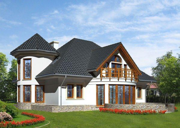 За счет мансарды можно значительно увеличить полезную площадь дома.