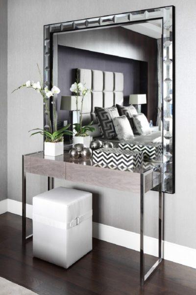 Использование зеркал в современном интерьере