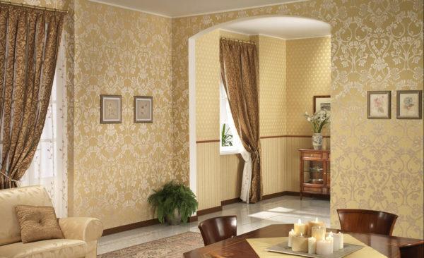 В каком интерьере будет уместен золотой цвет